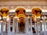 Interior of the Library of Congress
