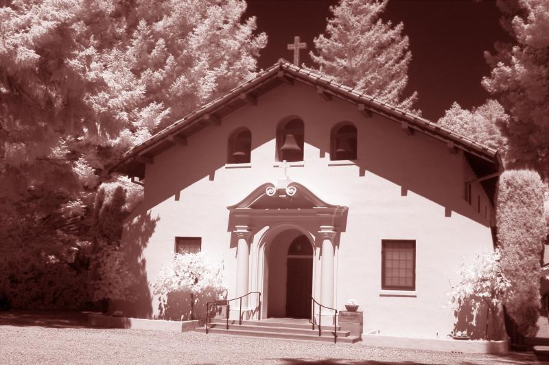 A hideaway church