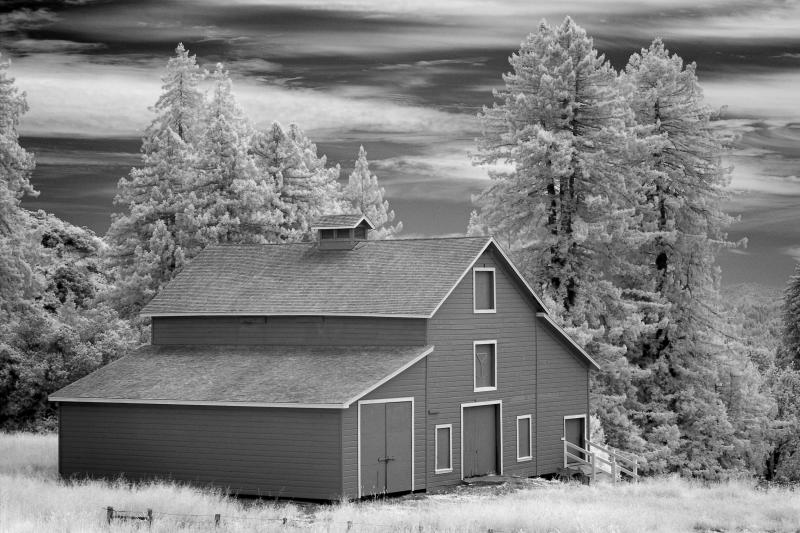 Somewhat red barn