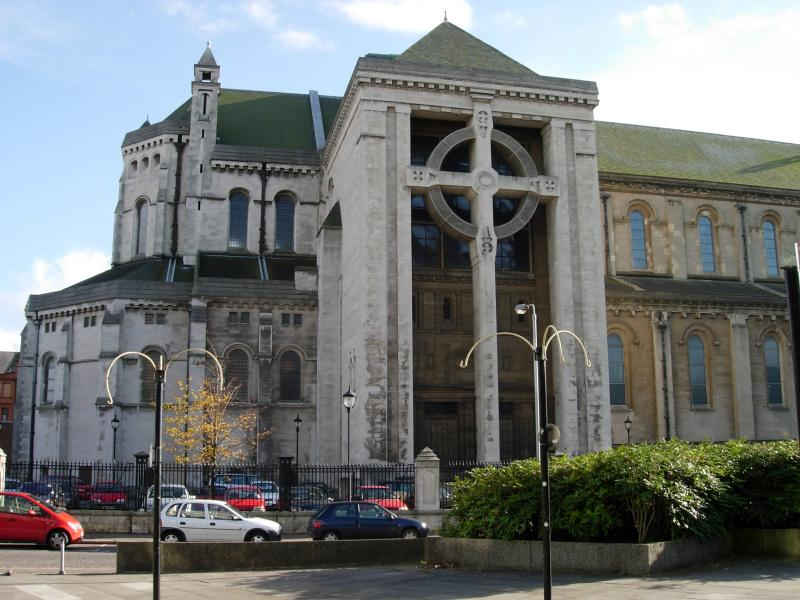 Belfasts Protestant cathedral.