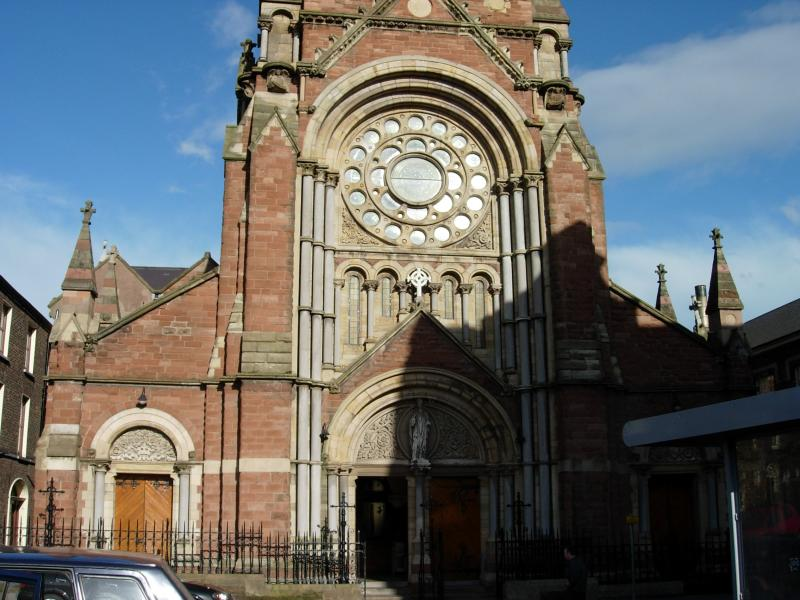 Belfasts Catholic cathedral.