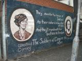 Catholic/Republican murals in the Falls Road area of West Belfast.