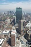 Prudentail Tower view of Boston