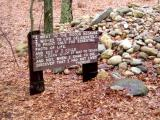 Rockpile - stones added by people who have been influenced by Thoreau