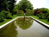 Reflecting pool at Westbury