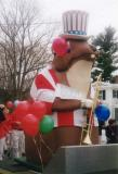 Ed leading the parade
