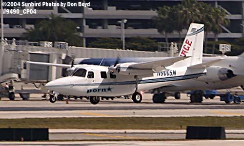 Charles S. Alburys Aero Commander N9005N aviation stock photo #9490