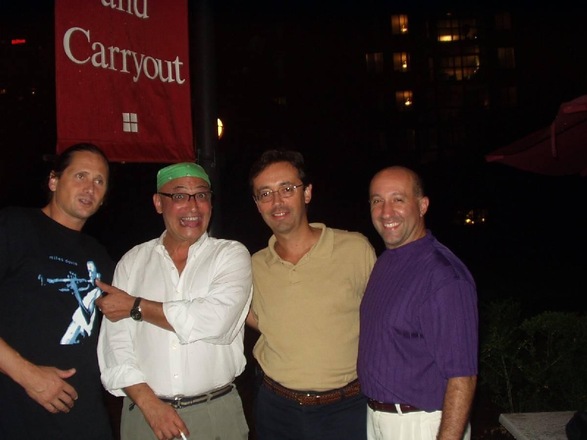 Steve, Amr, Andy, Rudy