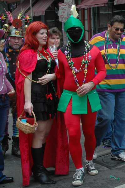 Red Riding Hood & Marvin the Martian