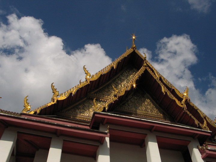 shinny golden roofs