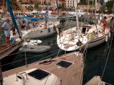25 Kalkan harbour  - yachts rafting up