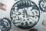 Porcelain with landscape