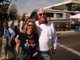 Mayor Harvey Hall and Laurie Kessler