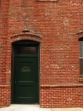 Downtown Bakersfield brick building