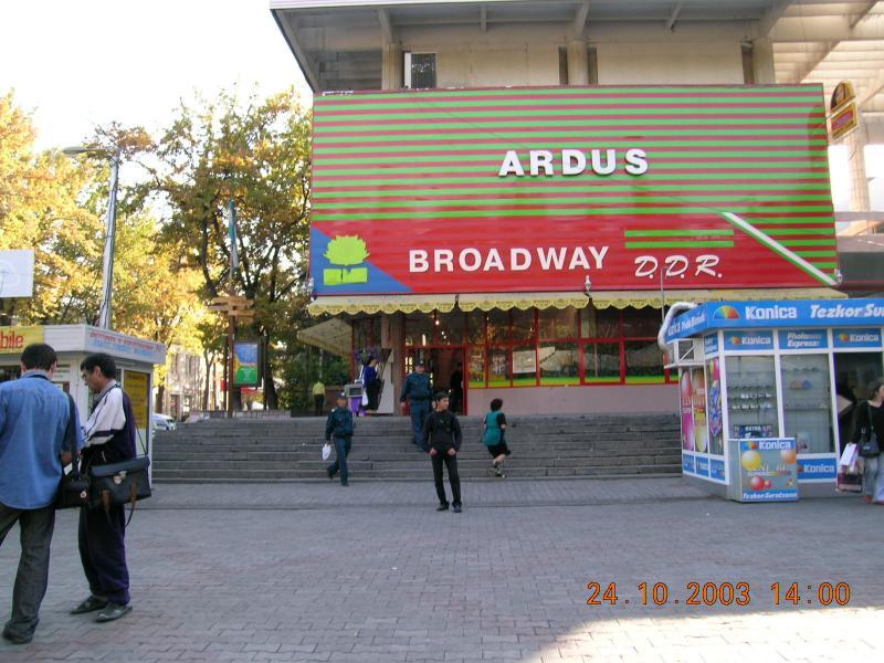 Broadway in Tashkent