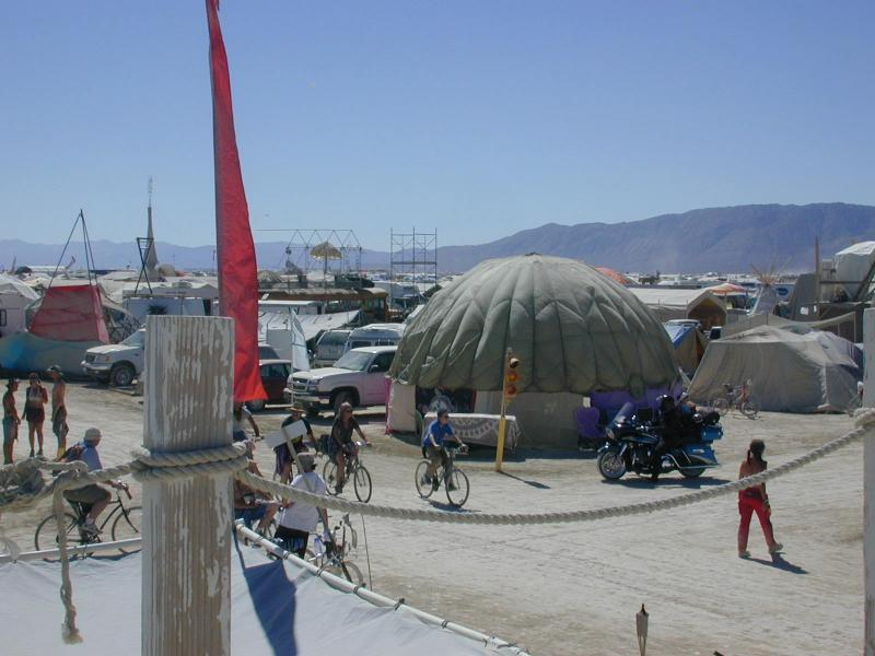 burning man 123 HOTD from roof