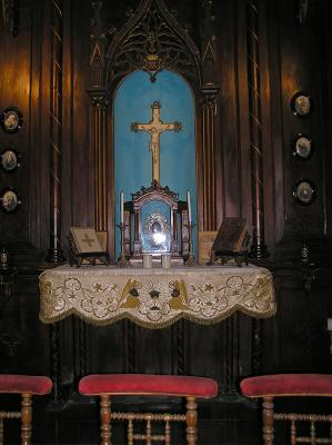 Altar in a Grand Old Residence
