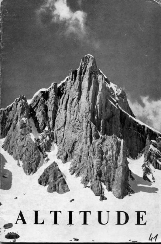 Altitude - Membres du GPHM en 1965