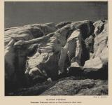 1904 : Crevasses frontales du glacier d'Ossoue