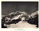 1904 : Séracs sur le front du glacier d'Ossoue