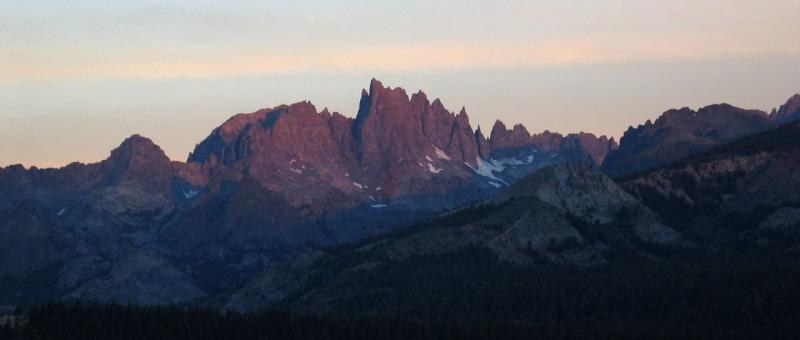Minaret Summit Sunrise 6:30am