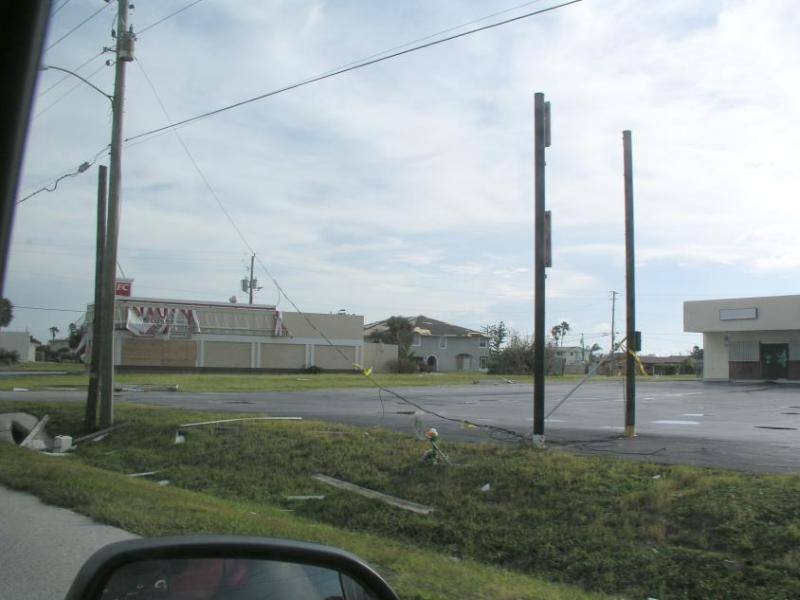 Whats left of KFC on Hwy A1A in Satellite Beach