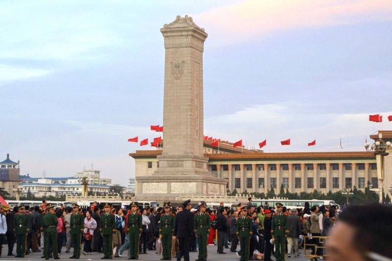 Monument to the Peoples Heroes - Tiananmen Square