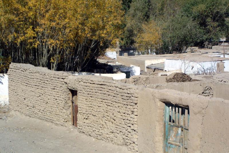 Tashkurgan Village - Elevation 3200m.