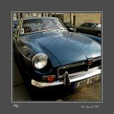 MG B GT Paris - France