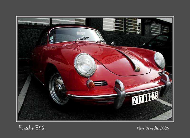 PORSCHE 356 Paris - France
