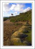 Rocks at Hive beach, West Dorset