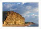 Cliffs and beach, West Bay, Dorset (1764)