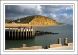 More pier and cliffs, West Bay, Dorset