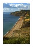 That beach again, West Bay, Dorset