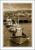 Four boats ~ the harbour, West Bay, Dorset