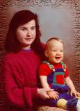 1992 with my son