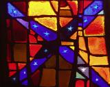 Confederate stained glass