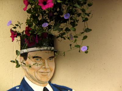 Flowery Crown, St. Peters Port, Guernsey, UK, 2004
