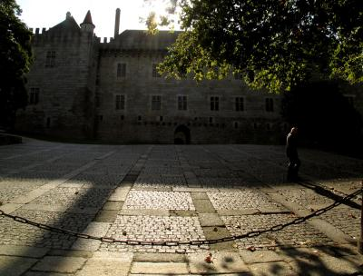 The old Parade Ground, Guimaraes, Portugal, 2004