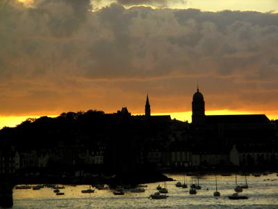 Dawn, St. Malo, France, 2004