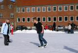 Children and Adult  enjoy Skating