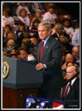 Bush Rally, Friday, Oct. 28, 2004, Manchester, NH
