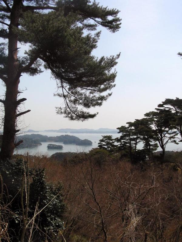 Overlook of Matsushima Bay