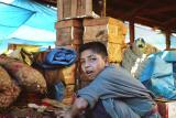 Boy in the market in Thimpu
