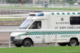 Ambulance following the horse group
