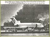 1982 - AP Laserwire, Pan Am B727-235 N4734 Clipper Charmer engine fire on takeoff roll