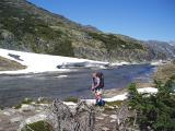 chilkoot trail at happy camp