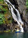 misty fiords waterfall