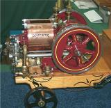 Domestic stovepipe Internal Combustion engine