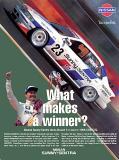 Nissan ad (Newsweek)